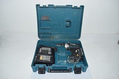 - MAKITA LXPH03 18V 1/2''  CORDLESS HAMMER DRILL Kit W/ CHARGER, BATTERY, CASE