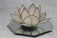Porta Candela Tea Light Lotus Con Specchio - light - ebay.it
