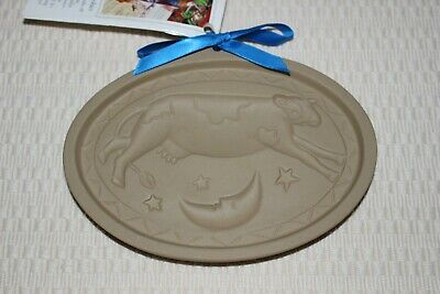 Brown Bag Cookie Art Mold Cow Jumps Over The Moon Hill Design 1993