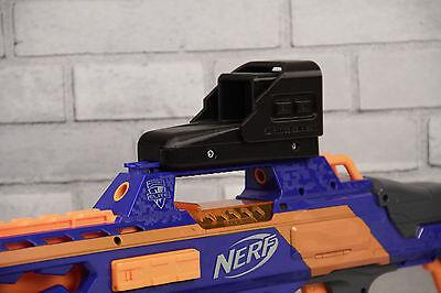 3D Printed -- Kartoffelpuffer Low Profile E-Sight for Nerf Dart Gun Blaster