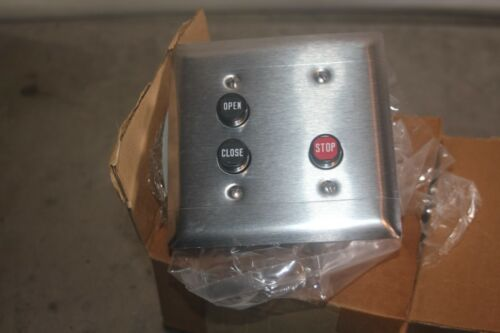SQUARE-D PUSH BUTTON STATION TYPE BF-303 SERIES 9001