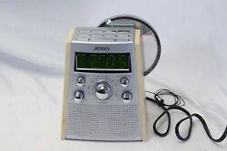 Jensen JCR 560 Radio Atomic Dual Alarm Clock Radio CD Player Tested Guaranteed