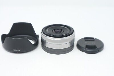 Sony 16mm F2.8 SEL16F28 Sharp Wide Angle Prime Lens for Sony E-Mount, Exc. Cond