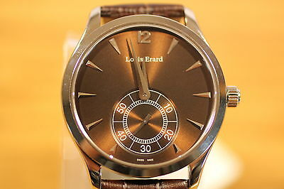 LOUIS ERARD 1931 SMALL SECONDS MANUAL WINDER 50M 47207 AA15 MEN'S WATCH
