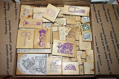 Massive Rubber Stamp Lot! Over 200+ Stamps for Cardmaking and Scrapbooking