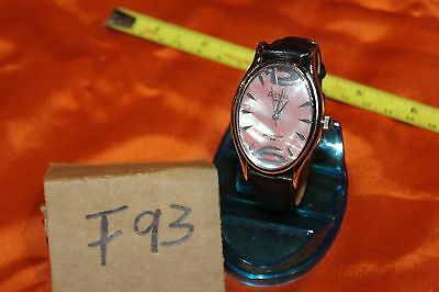 Swiss Made Activa Quartz Ladies Watch with PINK MOP FACE F93