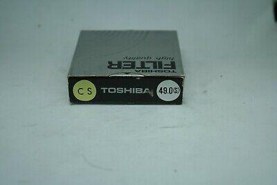 TOSHIBA    FILTER   HIGH quality   49mm    CS