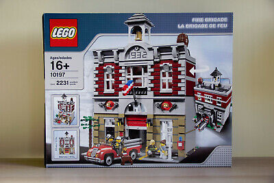 Lego Creator Fire Brigade 10197 100% Complete w/ Box & Instructions, EXCELLENT!