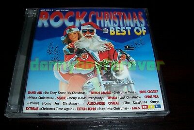 Rock Christmas Best Of 2 CD Set Slade Extreme Bing Crosby Pretenders Eartha