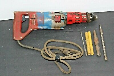 Milwaukee 5351 Heavy Duty 34 Inch Rotary Hammer Drill And Accessories