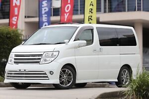 MY 2008 NISSAN Elgrand Rider 2.5L With Double Sunroof Leather Seats 5 Year Warranty    Wetherill Park Fairfield Area Preview