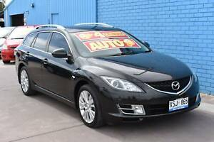 2008 Mazda 6 GH Series 1 Classic Wagon 5dr Spts Auto 5sp 2.5i Enfield Port Adelaide Area Preview