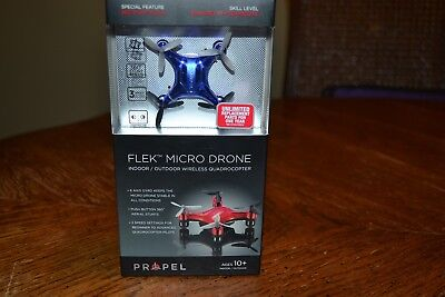 FLEX MICRO DRONE INDOOR/OUTDOOR WIRELESS QUADROCOPTER NEW GOLD COLOR