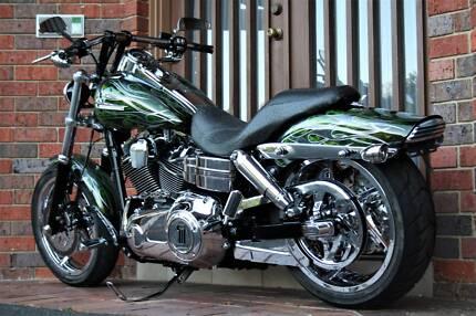 MODIFIED 2012 Harley Davidson Fat Bob 103ci Narre Warren South Casey Area Preview