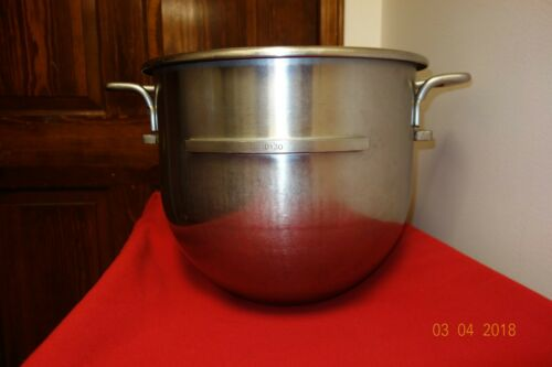Hobart D30 Stainless Steel 30 Qt. Mixer Bowl