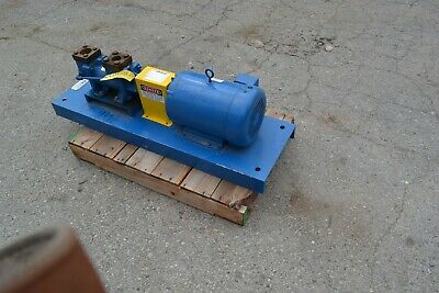 Imo Screw Pump 3dhs 156 10 Hp 3 Phase 208-23046v Fluid Transfer Hydraulic