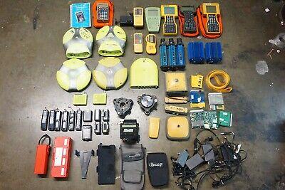 Lot Of Topcon Javad Leica Pacific Crest Pdl Lietz Gps Gnss Survey Rtk Parts