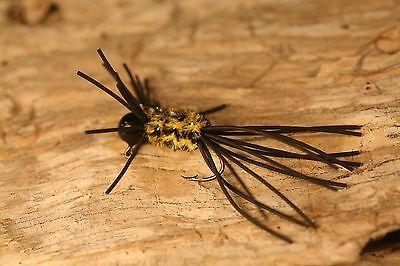 1/32 oz Gypsy Bug ( 4 PK ) custom hand tied crappie jigs with # 6 sickle hooks](Gypsy Custome)