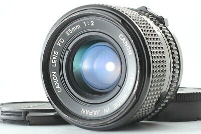 [EXCELLENT] Canon New FD 35mm F/2 NFD Wide Angle MF Prime lens From JAPAN #0746