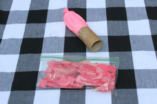 Gender Reveal Confetti with Home Made Cannon! Boy Girl Pink/Blue