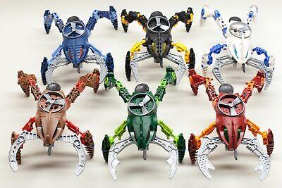 Lego Bionicle Visorak Lot  All 6 Set 8742 8743 8744 8745 8746 8747 - Lego Bionicle Visorak