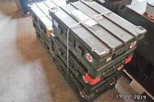 Zargesbox  Bundeswehr A5 60 40 25 cm Alte Ausführung  Top !