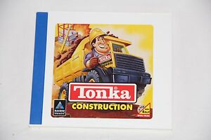 TONKA-CONSTRUCTION-CD-ROM-HASBORO-INTERACTIVE-WIN-MAC-4-amp-UP-COOL-CASE-SEE-PICS