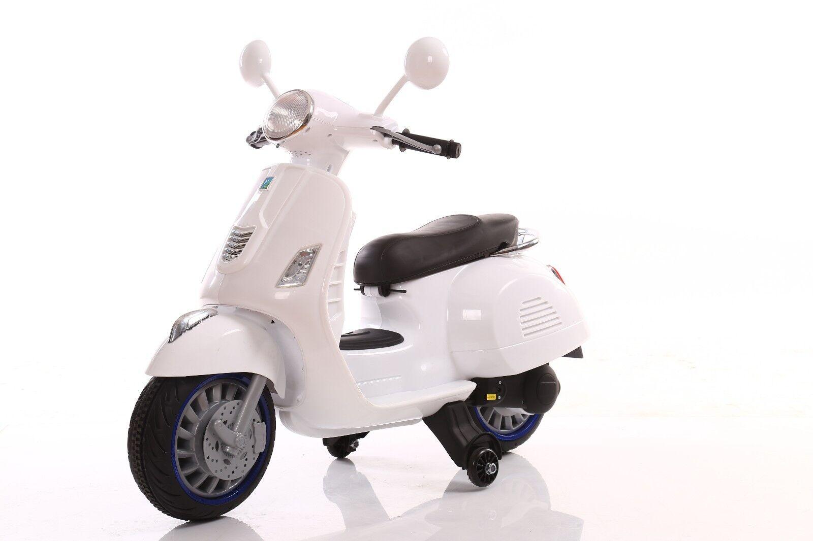 MOTO MOTOCICLETTA ELETTRICA PER BAMBINI SCOOTER HAPPY  12v