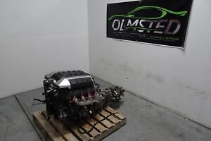 LS3 Engine and TR6060 6 Speed Manual Transmission Complete Pullout Tuned! 42K