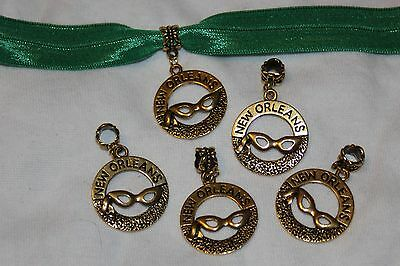 Mardi Gras Jewelry Wholesale (Wholesale 100 GOLD Mardi Gras Mask New Orleans Dangle Charms 1