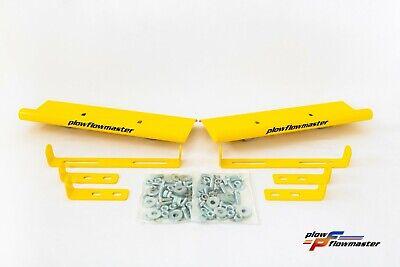 Hurricane V-plow Yellow Air Foil Kit - Powder Coat Finish