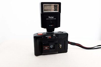 Hanimex 35 HS 35mm film point and shoot camera with flash lomo retro