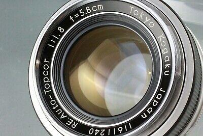 Topcon RE Auto-Topcor 5.8cm f1.8 35mm Manual Focus Lens #86
