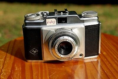 """Ancien appareil photo """"Agfa Silette Type I Camera, with Color Apotar 45mm"""""""