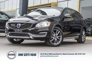 2016 Volvo V60 Cross Country T5  AWD Premier Certifiée