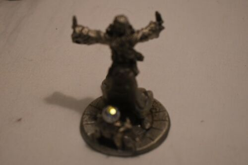 Pewter 520 of 3000 Wizards 4 Elements Earth only 1987 Gallo