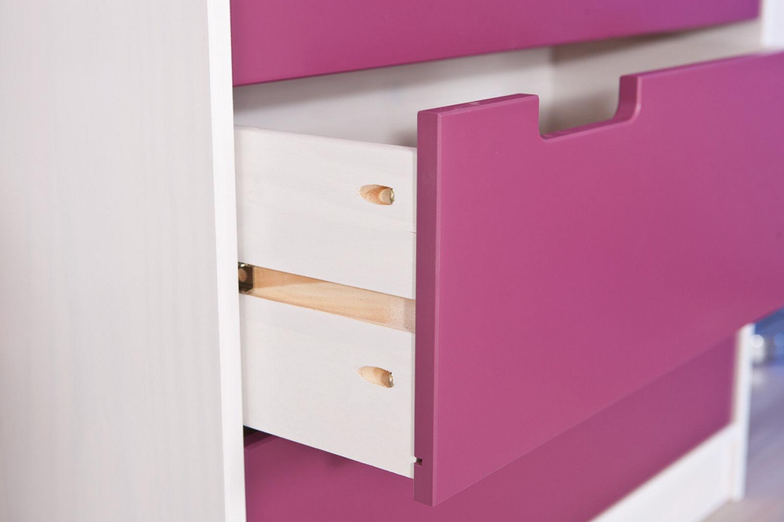 Kommode spielzeugkiste kinderschrank schlafzimmerschrank for Kommode lila