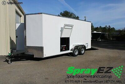 Fully Customizable Spray Foam Trailers Featured 7x18 Pmc Ph-40 Proportioner