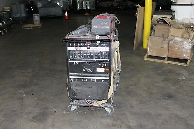 Lincoln Square Wave 355 Acdc Tig Welder Cool Arc 40 Water Cooled