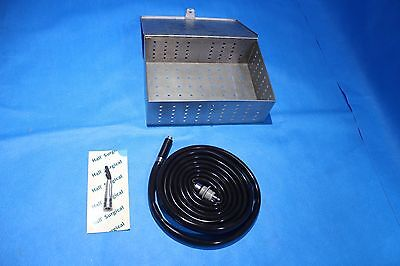 Zimmer Hall Surgical High Low Speed 5056-02 Air Hoseototomedrill 5056-05
