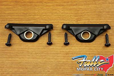 (07-18 Jeep Wrangler JK 2 Door Folding Top Side Bow Locks Set of 2 TWO Mopar OEM)