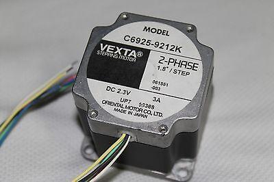 Vexta Stepper Motor 2-phase 1.8 Degree Step Dc 2.3v 3a C6925-9212k