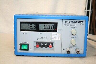 Bk Precision 1670a Dc Regulated Power Supply