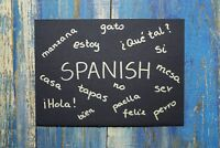 lessons/tutoring sessions in the Spanish