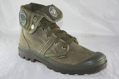 PALLADIUM PALLABROUSE BAGGY 02478-326-M DARK OLIVE/DARK GUM MEN'S