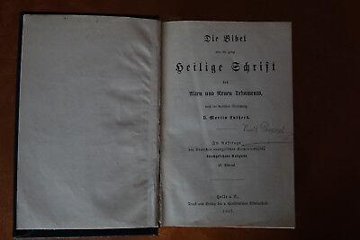 Die Bibel, Altes und Neues Testament, 1907