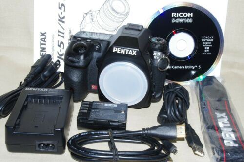 Exc++/Mint K-5 IIs Pentax Digital SLR, All Original Full Box, 30 Day Return