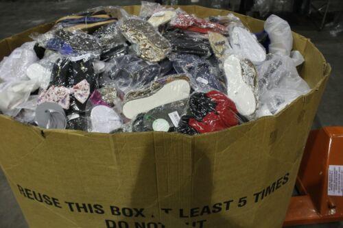 Huge Pallet Wholesale Lot Men/Women Sandals/Slides etc Asst Brand/Style & Size