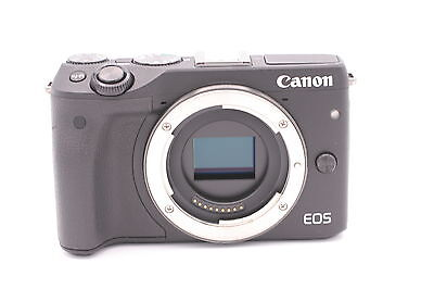 Canon EOS M3 24.2 MP Digital Camera - Black (Body Only)