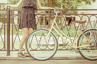 Fahrräder mit Tiefeinstieg sind besonders komfortabel. (Foto: Thinkstock)